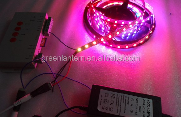addressable dmx rgb led strip Digital Programmable Addressable ws2812b Led 5050 RGB Strip