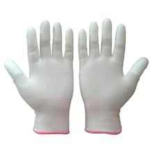 EXW Good Price PU White Anti-static Gloves High Protective Working Gloves Safety Gloves