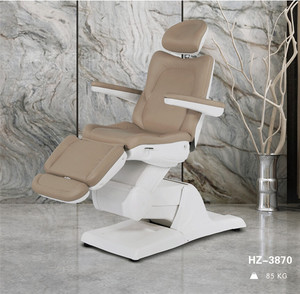 Best Selling Adjustment Cosmetic Treatment Chair High Quality 3 Motors Electric Beauty Bed