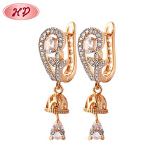 18 Carat Gold Plated Jewelry Earrings Manufacturer Wholesale New Design Vietnam Jewelry Earrings