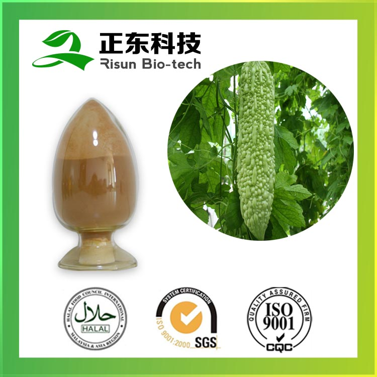 100% organic real herbs 10% saponin of Bitter Melon Extract