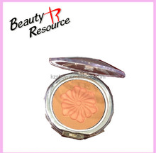 OEM!!!Tranportant Case Waterproof Embossed Make Up Skincare Compact Powder/Press Powder