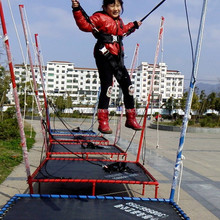 the hot sale mini bungee trampoline harness,children bungee jumping equipment