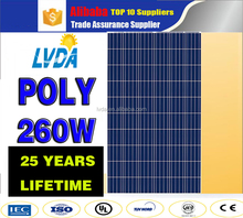 China top 10 solar panel supplier factory directly sale in Cambodia market cheap price best quality solar panel poly 260watt