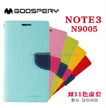mercury case goospery fancy diary flip leather wallet case cover for samsung galaxy note 3 n9005