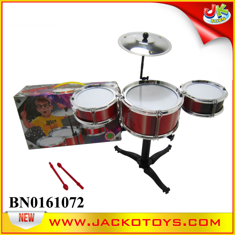 Plastic electronic JUZZ Drum set for kids