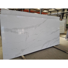 Hot Sale marble look Calacutta white Quartz Slab
