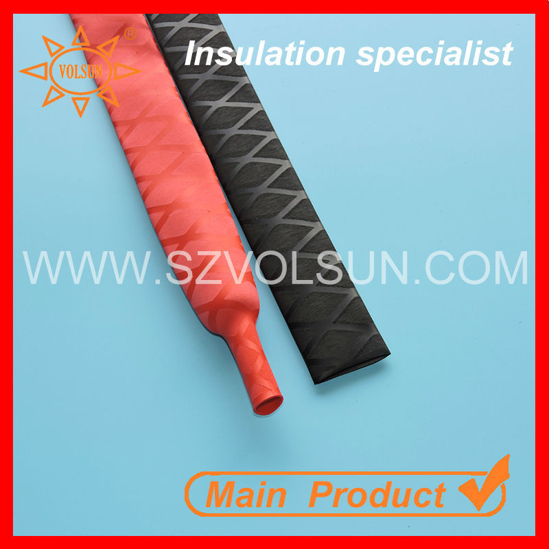 Polyester Textured UV Resistant Heat Shrink Fishing Rod Sleeve