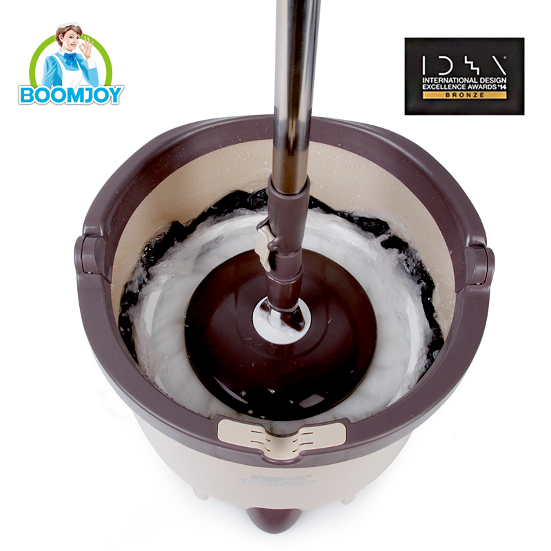 easy 360 rotating magic spin mop with single bucket