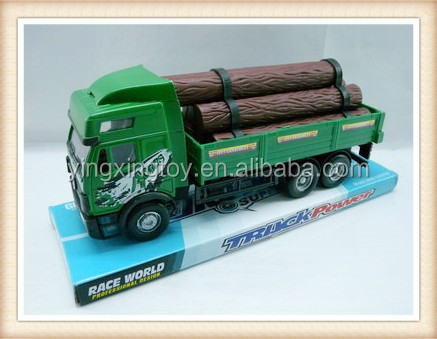 plastic logging farm truck utility vehicle toy