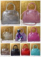 hot selling beautiful girls jelly handbags latest design candy girl handbag,little girl jelly handbag with mix color