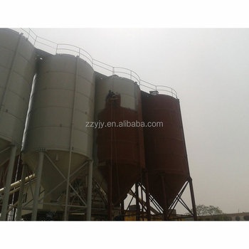 High quality horizontal different capacity flake concrete storage silo for sale