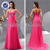 NNA1066 Elegant strapless long dresses real evening dresses for pregnant woman