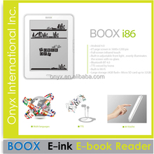 download free ebooks on Onyx Boox I86 ebook reader 8 inch infrared touch wifi front light
