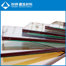 Low E Coated Energy Saving Glass and Glazing Curtain Wall System