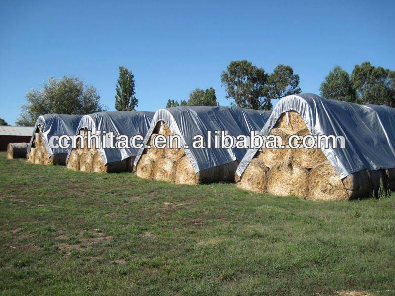 Agriculture use fireproof custom made hay tarps