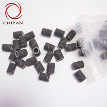 100pcs/pack Sanding Bands for Manicure Pedicure Nail Drill Machine