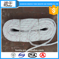 Factory price recycling pp rope 12mm ship rope for sale