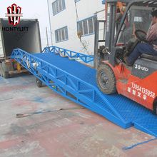 6-15 ton Warehouse Loading Ramp Mobile Container Yard Ramp