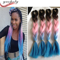 Make you more beautiful of mali braid hair, expression hair braiding extensions, extension hair for braid