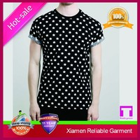 Cheap top quality 65% cotton 35% polyester custom fashion new trend tshirt by China supplier