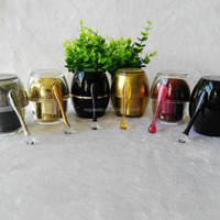 Acrylic Colors Cream Cosmetic Packaging Jar
