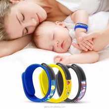 All Natural Insect Repellent bug bracelet sporty band mosquito repel band velcro mosqutio band