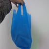 Shopping pp bag non woven bag t-shirt vest carrier handle shopping pp non woven bag