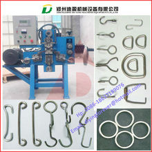 automatic steel wire buckle forming machine for handbag