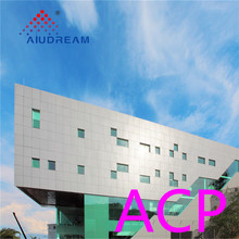 Aludream metal wall aluminum building material acp cladding