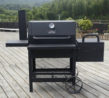 USA hot selling heavy duty offset wood bbq smoker