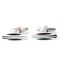 Top selling attractive style metal brass material mens cufflinks