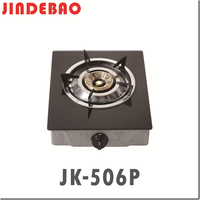 JK-506P glass top gas stove 1 burner outdoor burner