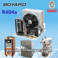 qxd-23k hermetic rotary refrigeration compressor condensing unit for ice cream machine refrigeration parts