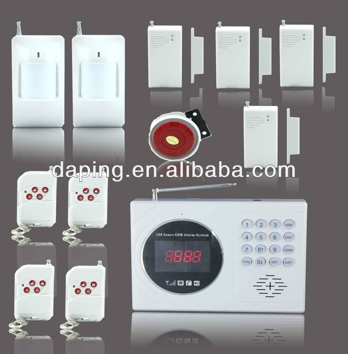 Wired intruder alarm wired intruder alarm suppliers and wired intruder alarm wired intruder alarm suppliers and manufacturers at alibaba solutioingenieria Images