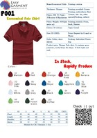 Custom Logo Design Screen Printing Embroidery Economical Blank Men and ladies Polo Shirt