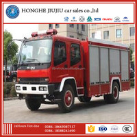 japan 8m 190hp fire fighting truck with low price 5000l water and 1500l foam
