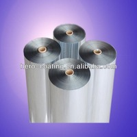 aluminum thickness metallized PET film