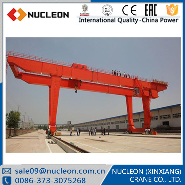 U Type Emergency Stop System Included Gantry Crane 20 ton