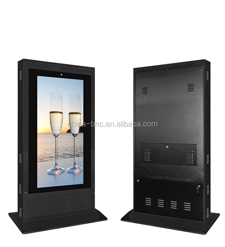46inch LCD touch screen mall kiosk, outdoor advertising machine