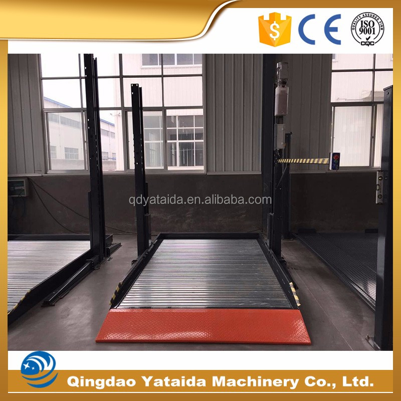 New Design Fashion China Manufacture High Quality 2 floor car lift car