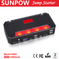 SUNPOW emergency car battery mini jump starter