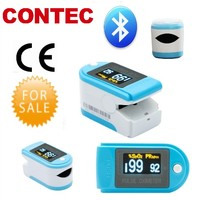 CMS50D-BT bluetooth finger pulse oximeter Spo2 Monitor,Display of steps, calorie and time.SPO2/PR