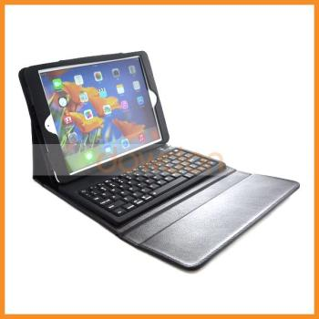 For iPad Air Keyboard Bluetooth 3.0 with Leather Case
