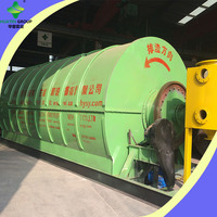 Tire Scrap Pyrolysis Equipment To Diesel With European Standard Dust Removing Device