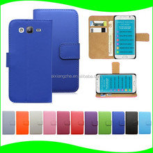 Wholesale mobile phone leather back cover for samsung galaxy note 3 Factory Price Smart Phones