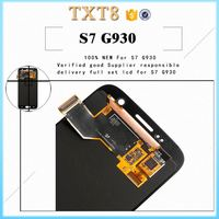 2016 New products electronics for samsung s7 phone G930 refurbished lcd display