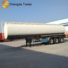 3 Axles 60Ton Max Payload And OEM No. Tanker Fuel Truck Trailer
