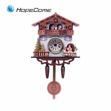 Factory Price Cuckoo Bird Wall Clock for Sale