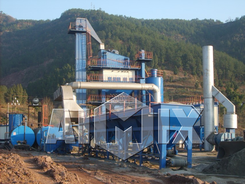 With low cost of 80t/h batch asphalt plant supply